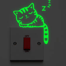 Luminous Cartoon Switch Sticker Glow In The Dark Cat Sticker Noctilucent Glow Wall Sticker Kid Room Decoration Home Decor Wall Stickers For Bedrooms Wall Stickers For Boys From Designerwallet1 0 69 Dhgate Com