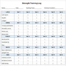 24 workout schedule templates pdf