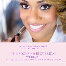 danielle rochon makeup bridal webinar