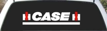 Amazon Com Case Ih 2 Color Custom Made Window Decal Sticker 9 X 24 Everything Else