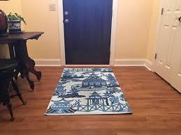 indoor outdoor blue willow paa rugs