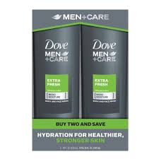 dove men care extra fresh body and face