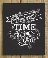 it s the most wonderful time of the year quote