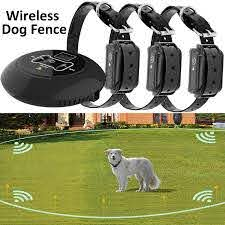3 Dogs Wireless Dog Pet Fence Containment System Electronic Collars 1640ft For Sale Online Ebay