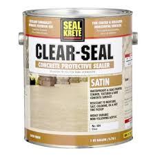 seal concrete protective sealer
