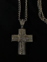 gold chain with mini diamond encrusted