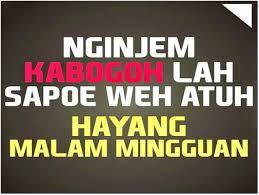kata kata lucu bahasa sunda buat status fb