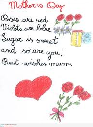 Kids Valentine Poems For Mom And Dad ...