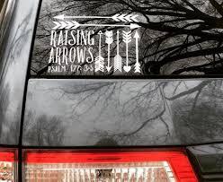 Raising Arrows Car Decal Raising Arrows Arrow Decal Car Decals