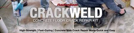 weld concrete floor repair kits
