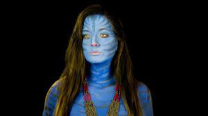 avatar face makeup saubhaya makeup