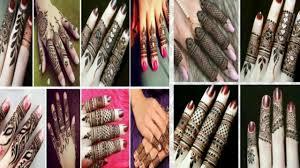 finger mehndi design khafif