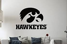 Ncaa Iowa Hawkeyes Wall Vinyl Decal Mural Decals Sticker Sport Logo Team W449 Amazon Com