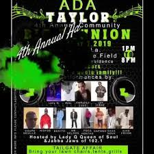 Its the 4th Annual Ada Taylor Community... - Lady Q Queen of Soul