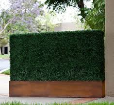 Artificial Boxwood Commercial Faux Hedges In Planters