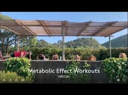 what s a metabolic effect workout like