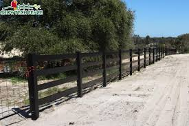 China Black Horse Fence Black Pvc Fence Ranch Rail Fence Vinyl Fence Photos Pictures Made In China Com