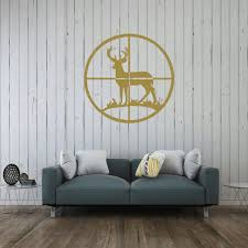 Deer Wall Decor In Vinyl Decor Wall Decal Customvinyldecor Com