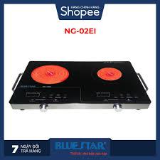 Bếp điện đôi hồng ngoại cảm ứng Bluestar NG-02EI