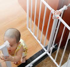 Gates Pet Supplies Size 82 90cm Extra Tall And Wide Baby Gates Stairs Safety Indoor Expandable Auto Close Gate Extension Dog Gates Pet Fence Metal 82 150cm Wide Height 100cm