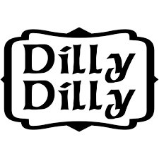Dilly Dilly Calligraphy Font Bud Light Inspired Vinyl Etsy