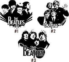 Beatles Vinyl Decal Sticker John Lennon Paul Mccartney George Harrison Starr Car Ebay
