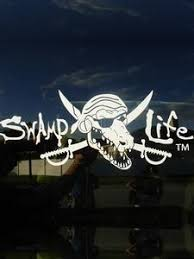 Swamp Life Gator Skull Vinyl Decal Sticker Cars Trucks Etc Life Out Loud Apparel