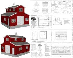 pole barn with apartment above plans
