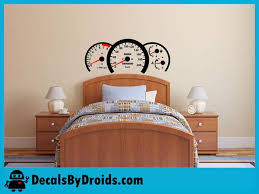 Race Car Speedometer Wall Decal For Boys Room Decals By Droids