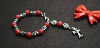 jewelry idea on diy rosary bracelet