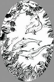 Dolphin Scene Static Cling Etched Glass Window Decal Glass Door Decor Ebay
