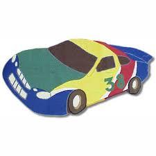 Buy Race Car Rug For Boys Room Kids Playroom Area Rugs Ababy Pink