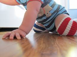 easy diy no sew knee pads for baby on