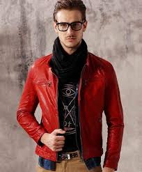 red leather jackets for men and women