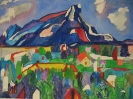 IDA STONE JONES Original Painting 17x22 Town Landscape | #150019596