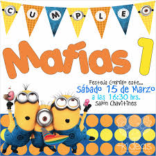 Minions Party Fiesta De Minions Decoracion Invitacion Minions