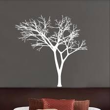 Winter Tree Decal Bare Tree Style 3 Vinyl Wall Decal 22225 Cuttin Up Custom Die Cuts