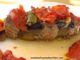 Patlıcan Kebabı – Patlıcanlı Köfteli Dizme – Nefis Yemek Tarifleri
