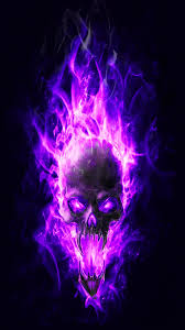 flaming skulls wallpapers on wallpaperplay