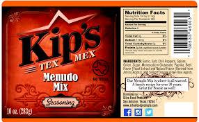 menudo mix kip s tex mex seasonings