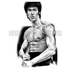 Custom Made Bruce Lee Iron On Stickers Heat Transfers Number7174 Irononsshop 07174 Bruce Lee Iron Ons