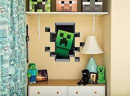 Minecraft Creeper Wall Decals With Figures Pig And Cow
