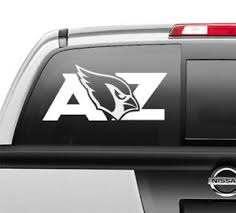 Arizona Cardinals Az Window Sticker Vinyl Decal Any Size Any Color Ebay