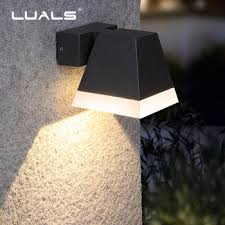 modern wall lamp outdoor waterproof led