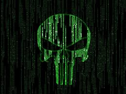 green hacker skull wallpapers hd