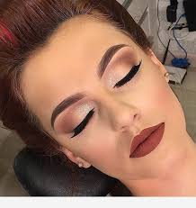 perfect makeup for a redhead