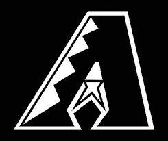Arizona Diamondbacks Logo Car Decal Vinyl Sticker White 3 Sizes Ebay