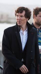 Benedict on set - Cardiff Bay Barrage, July 13 2016 credit: /Polly ...