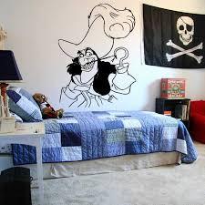 Wall Sticker Decal Neverland Map Peter Pan Cartoon Ship Pirate Never Grow Up Kids Children Boys Nursery Bedroom 3005 Wall Stickers Aliexpress
