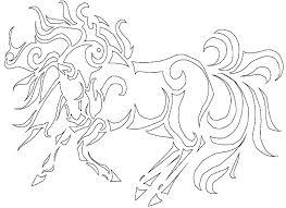 Anti Stress Kleurplaten Paarden 4